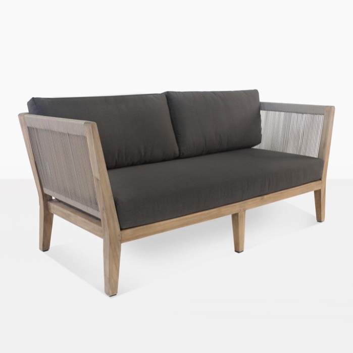 Ventura Reclaimed Teak Loveseat-0