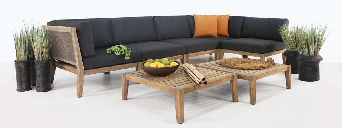 Ventura Reclaimed Teak Outdoor Furniture pic