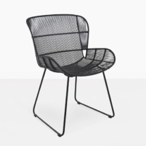 Nairobi Woven Dining Arm Chair (Black)-0