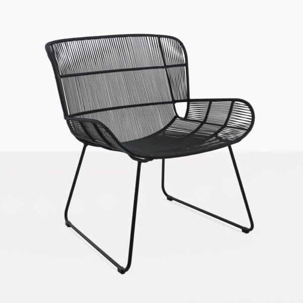 Nairobi Woven Relaxing Chair (Black)-0