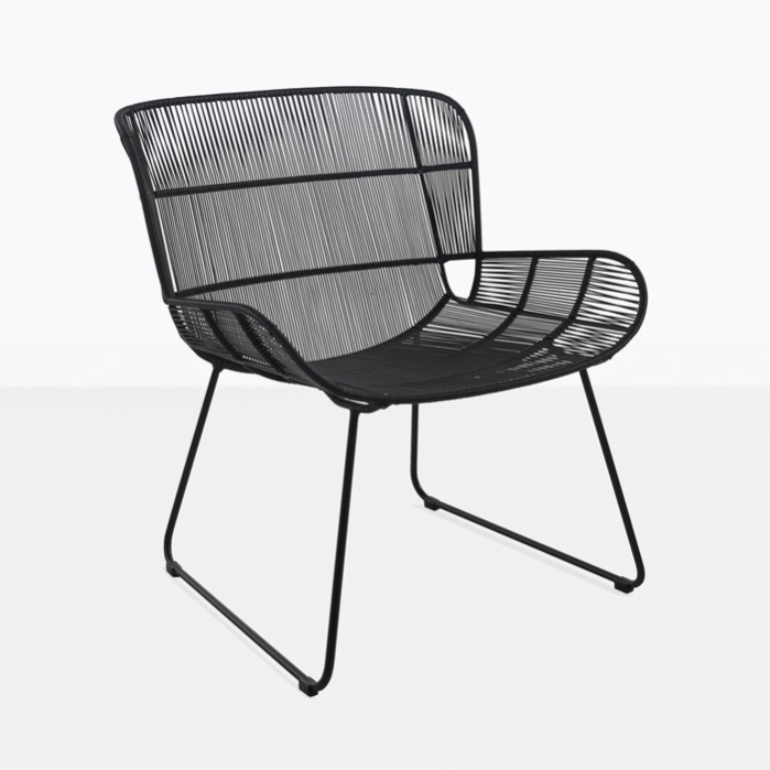 Nairobi Woven Relaxing Chair (Black)-0