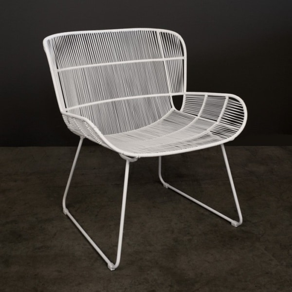 Nairobi Woven Relaxing Chair (White)-0