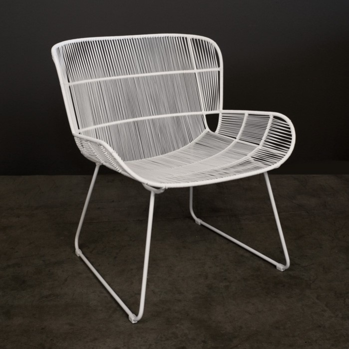 Nairobi Woven Relaxing Chair (White)-0