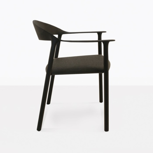 outdoor dining chair side view