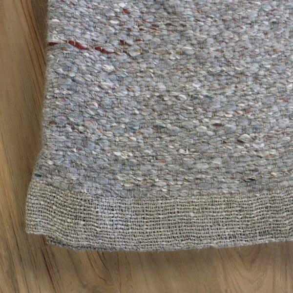 wool blanket closeup image