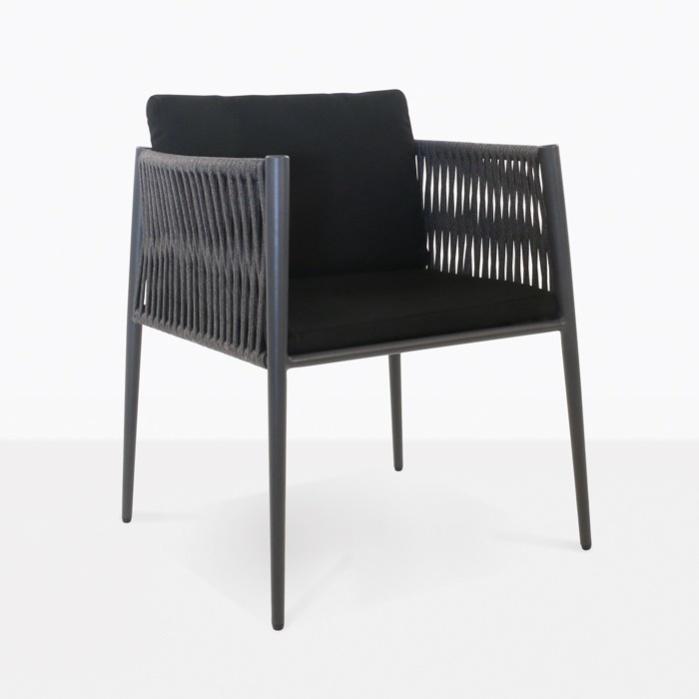 Luna Rope Outdoor Dining Chair Teak Warehouse