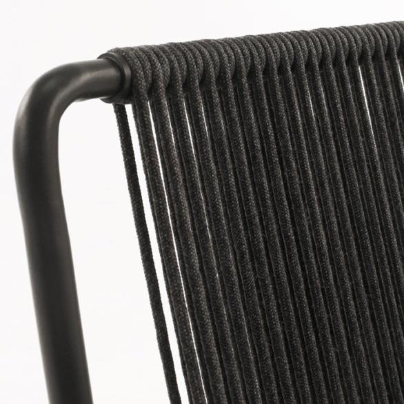 rope chair closeup image
