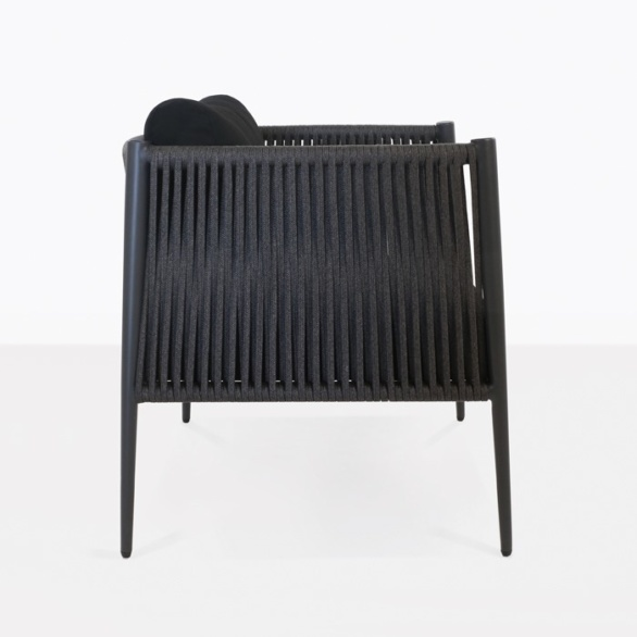 rope outdoor relaxing chair side view