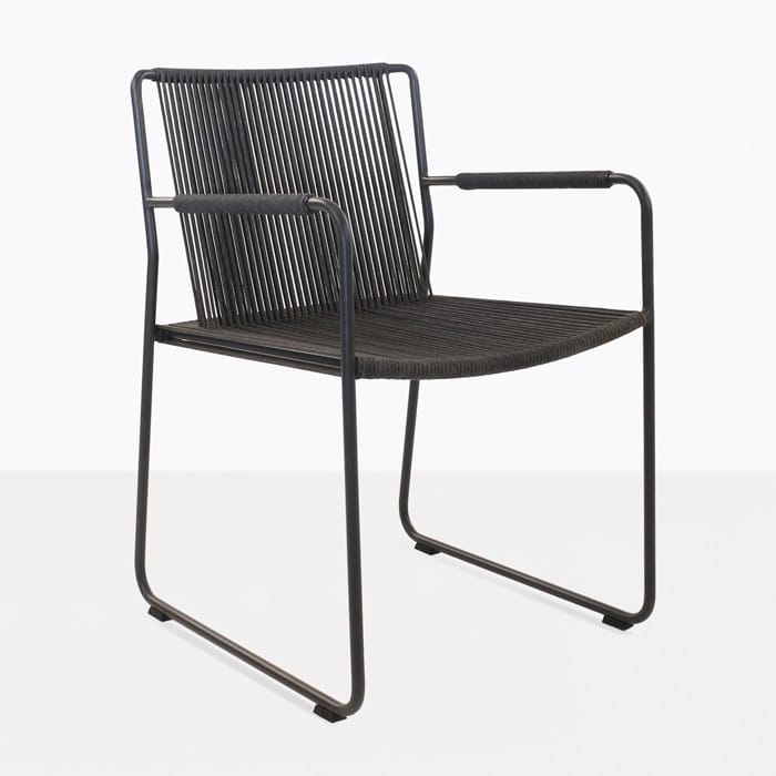Nero Rope Outdoor Dining Arm Chair-0 ...  sc 1 st  Teak Warehouse & Nero Rope Outdoor Dining Arm Chair | Teak Warehouse