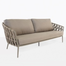 Wellington Rope Outdoor Sofa (3 Seater)-0