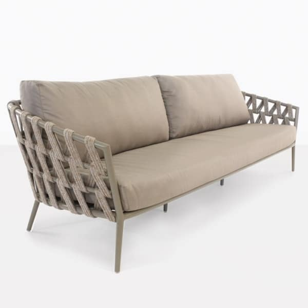 Wellington Rope Outdoor Sofa (4 Seater)-0