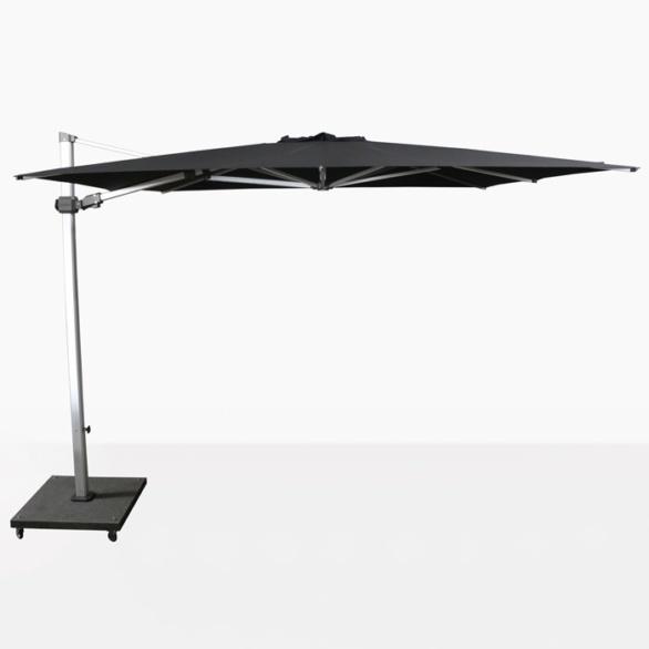Caribbean 10ft Square Cantilever Umbrella (Black)-0