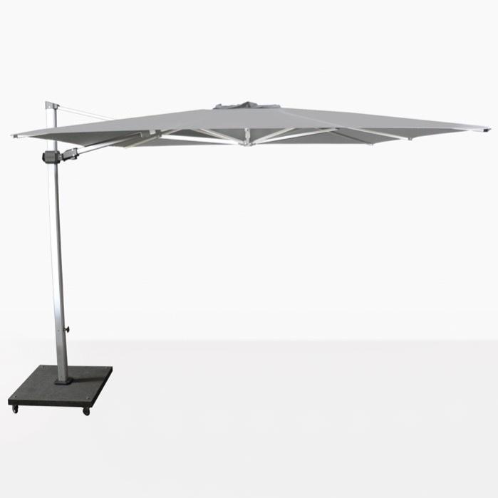 Caribbean 10ft Square Cantilever Umbrella (Grey)-0