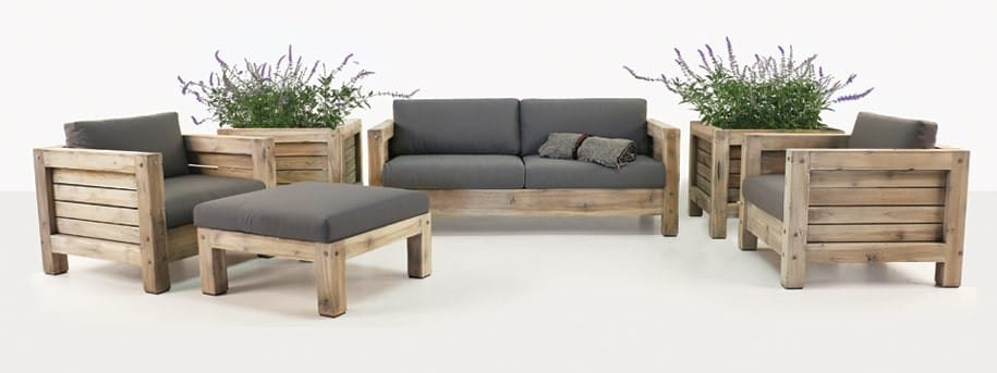 Lodge Teak Outdoor Furniture Set