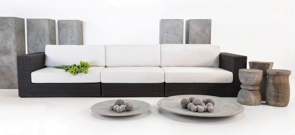 Austin Outdoor Wicker Sectional Sofa