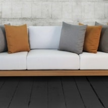 Ibiza Teak Outdoor Sofa
