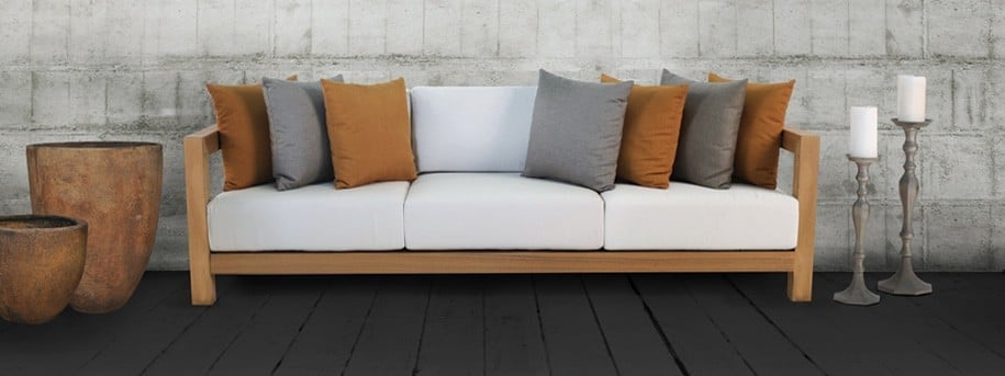 Ibiza Teak Outdoor Sofa
