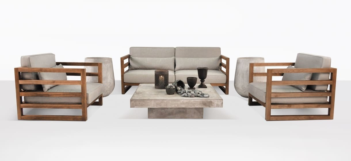 Manhattan Reclaimed Teak Furniture Collection | Patio Set | Teak Warehouse