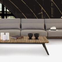Platform Sectional Outdoor Sofa