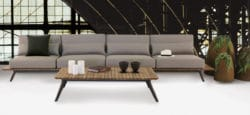 Platform Sectional Outdoor Sofa
