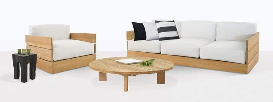 Soho Teak Outdoor Lounge Furniture