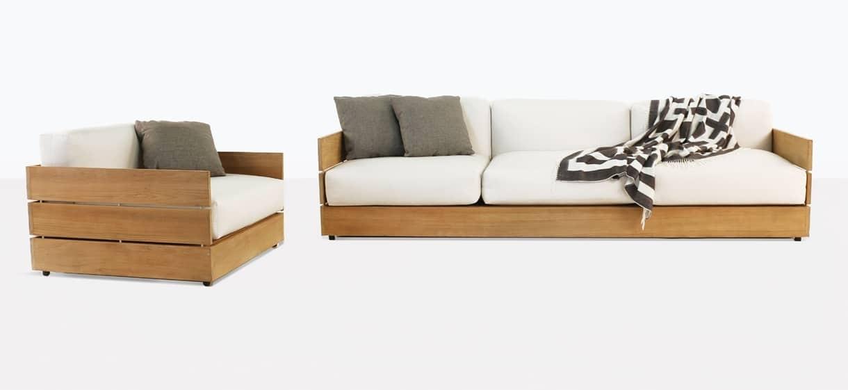 Soho Grande Teak Outdoor Furniture Collection | Patio Set | Teak Warehouse