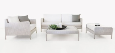 Zambezi White Wicker Furniture
