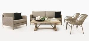 Zambezi Modern Patio Furniture Set