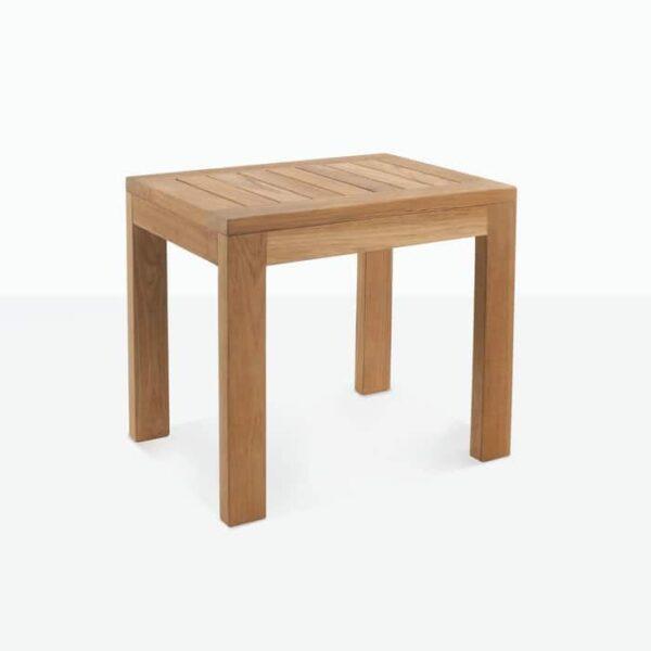 a-grade teak side table