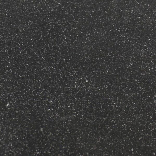 black round coffee table closeup image