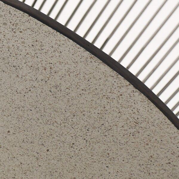 laminate coffee table closeup image