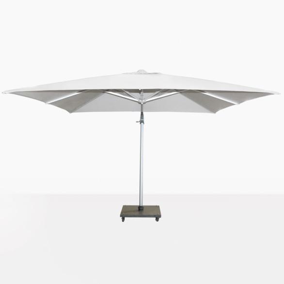 Mauritius Cantilever White Umbrella
