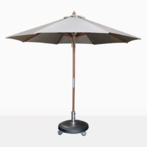 round dixon grey umbrella