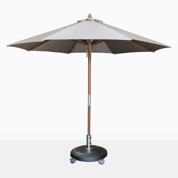round dixon grey umbrella