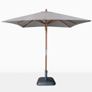 market square dixon umbrella - grey