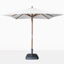 market square dixon umbrella - white