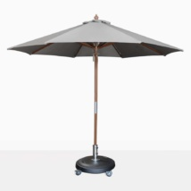 round dixon umbrella - graphite