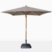 square dixon umbrella - taupe