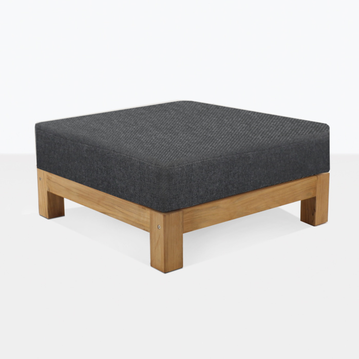 Ibiza Teak Ottoman With Cushion