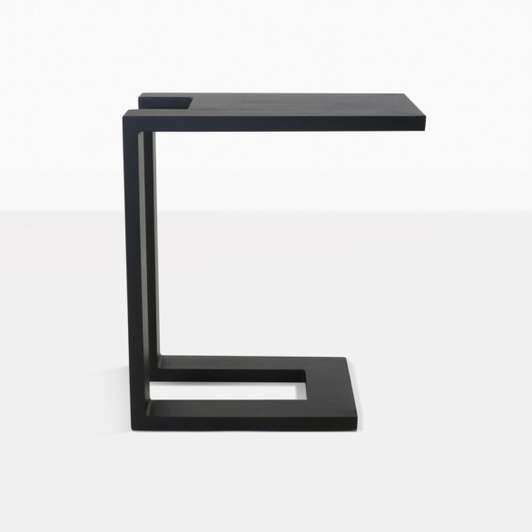 Montgomery side table in black