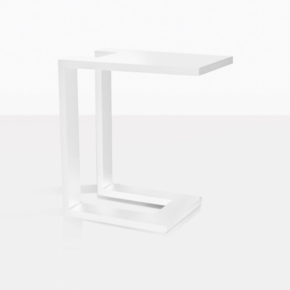 Montgomery Side Table in White