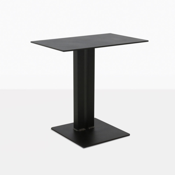 Barrett Black Aluminum Accent Table
