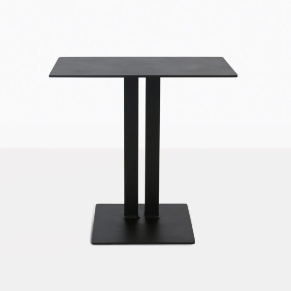 Barrett Aluminum Side Table Black