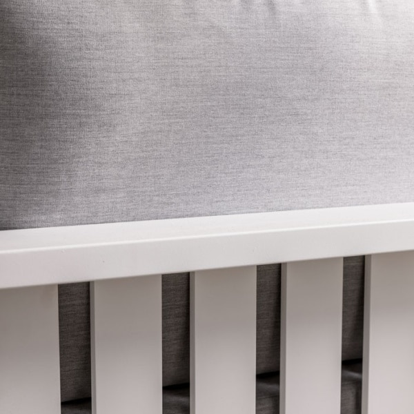 close up view of mykonos outdoor aluminum loveseat in white rear view