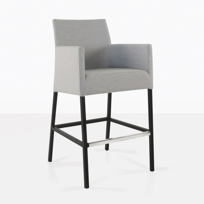 aluminum bar stools outdoor stool grey sale black