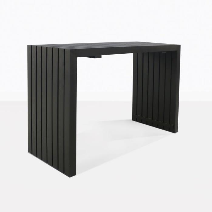 Paddington Bar Table in black
