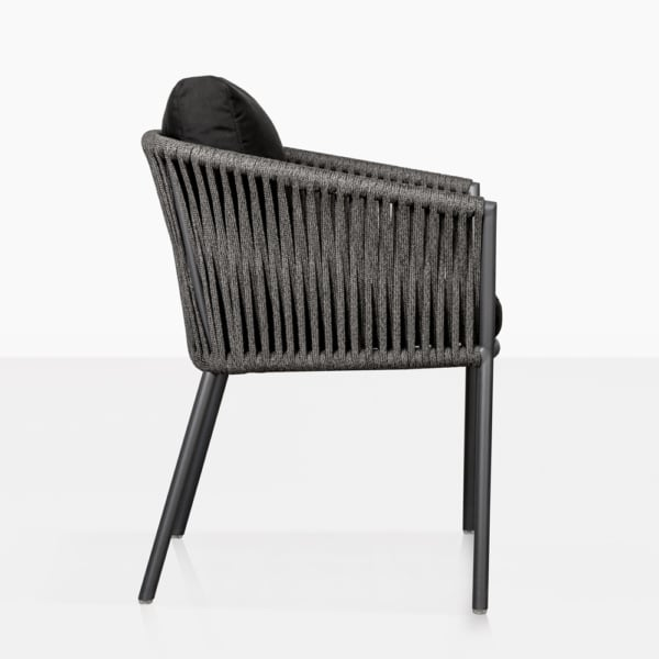 washington rope outdoor dining chair