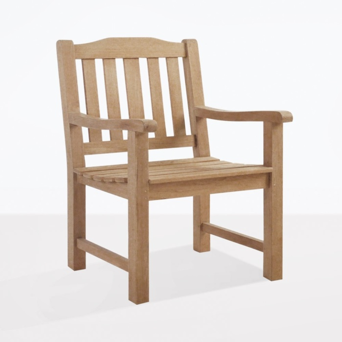 Victory A Grade Teak Dining Arm Chair