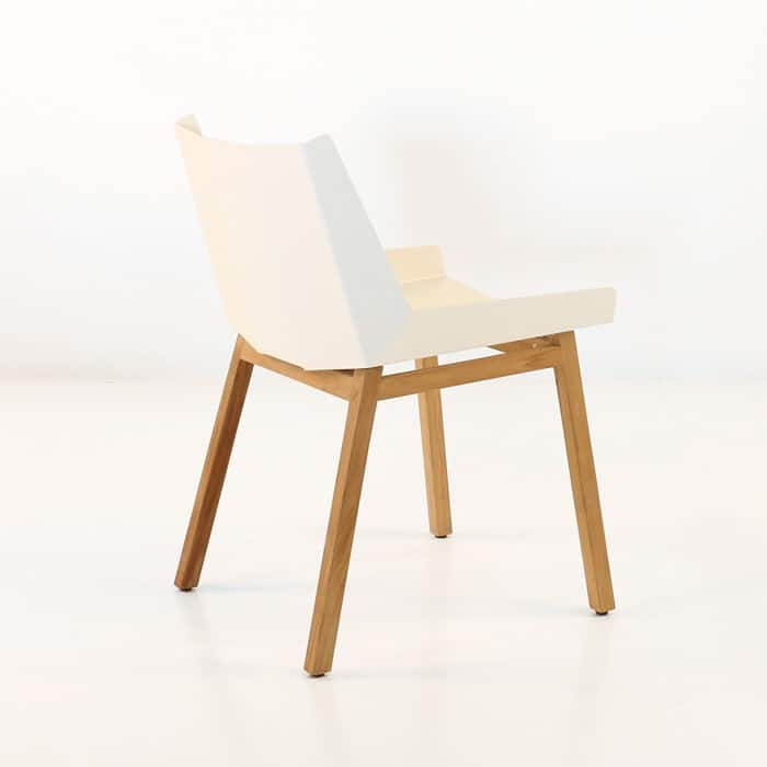 Elements White Dining Side Chair Outdoor Furniture