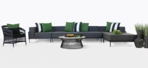 Kobii Aluminum Seating Collection